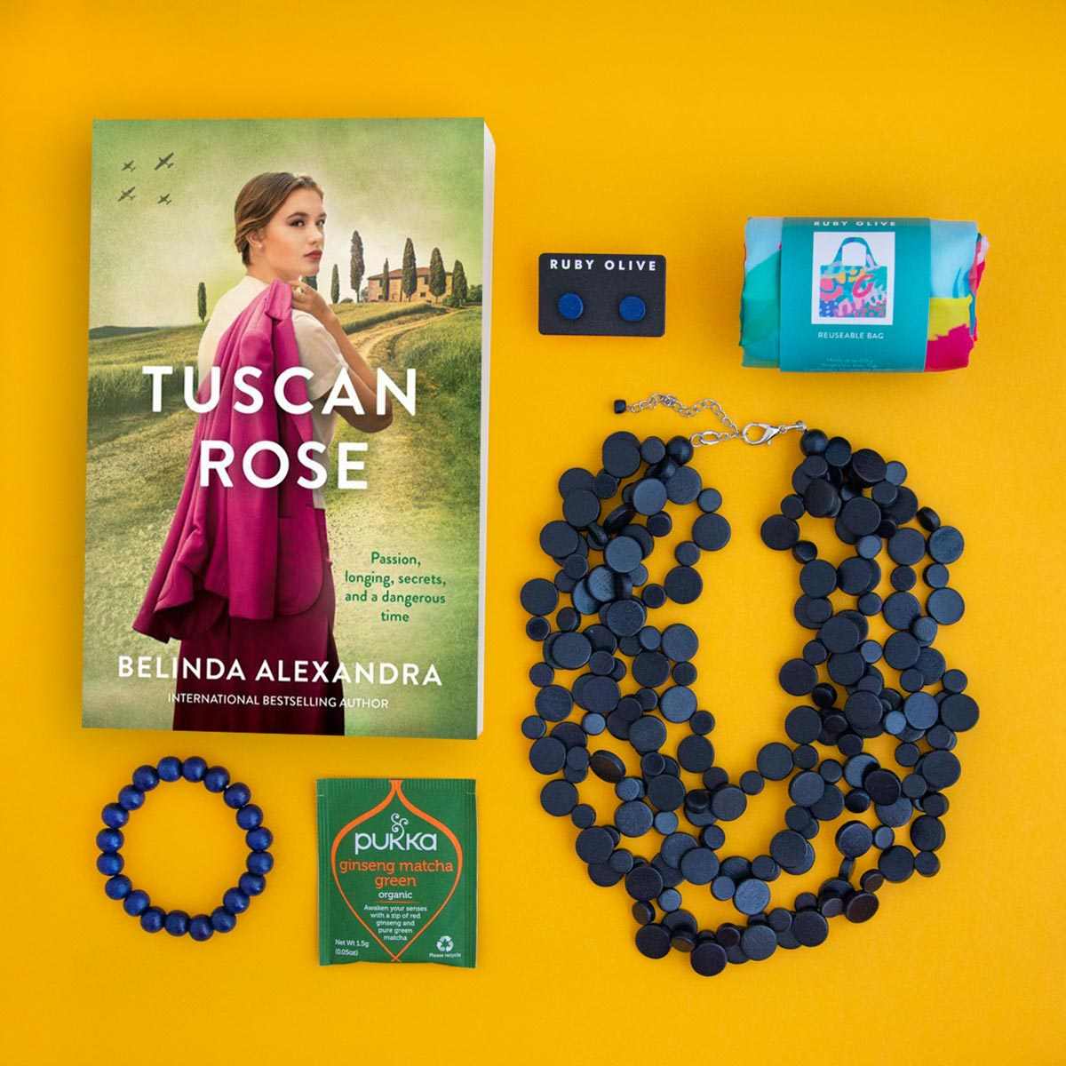 Date With A Book Gift Pack - Belinda Alexandra - Tuscan Rose