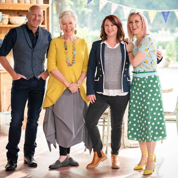 Maggie Beer and the Great Australian Bake Off hosts