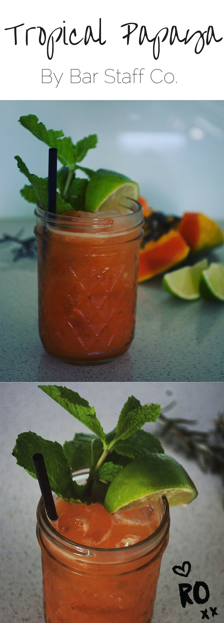 Tropical Papaya Cocktail Recipe