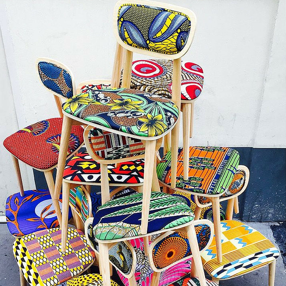 Colourful Chair Interior Design Stack