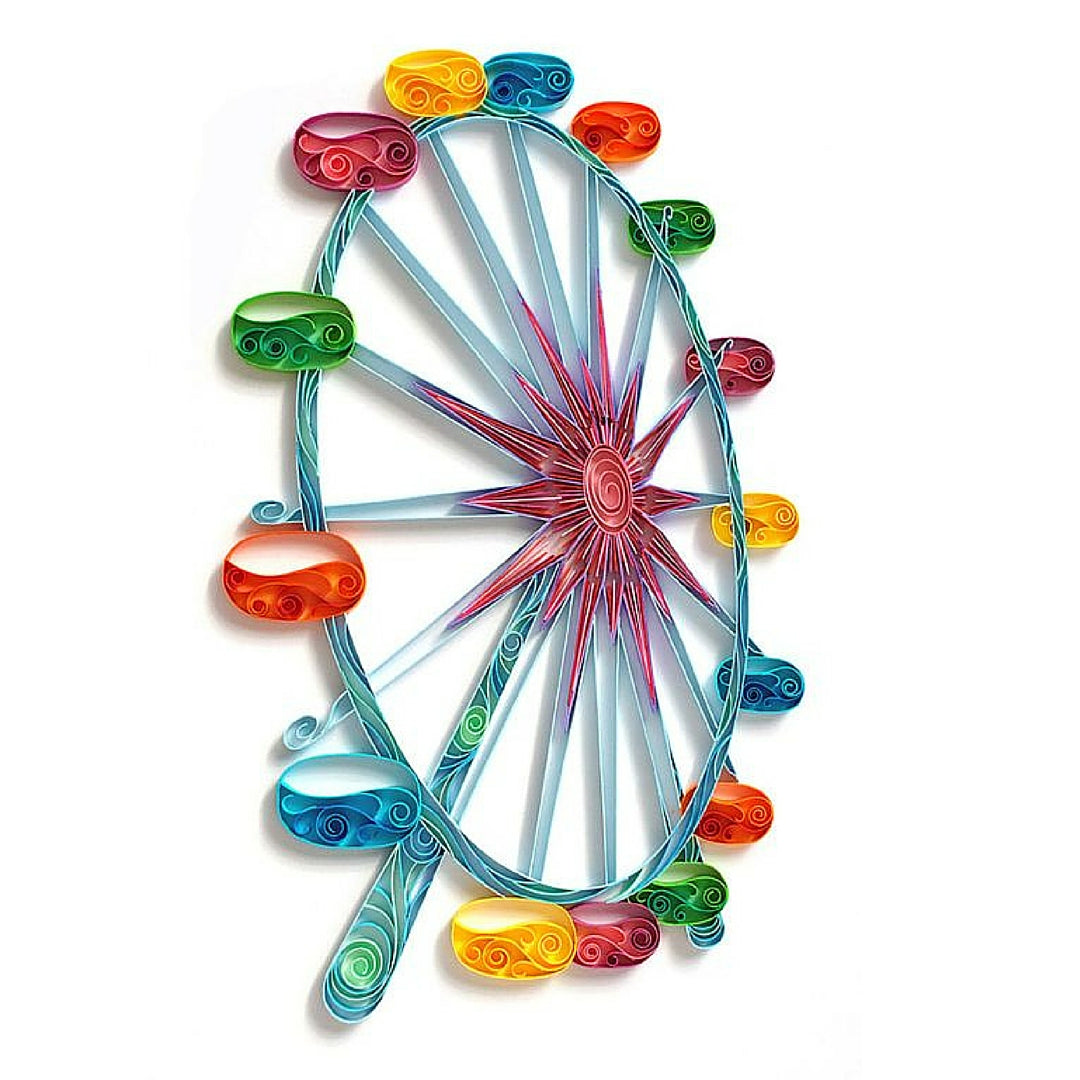 Paper Crafts Quilling Ferris Wheel