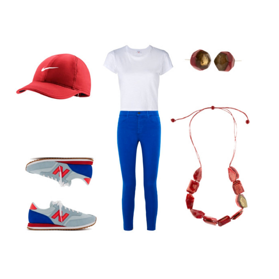 Red White and Blue Style