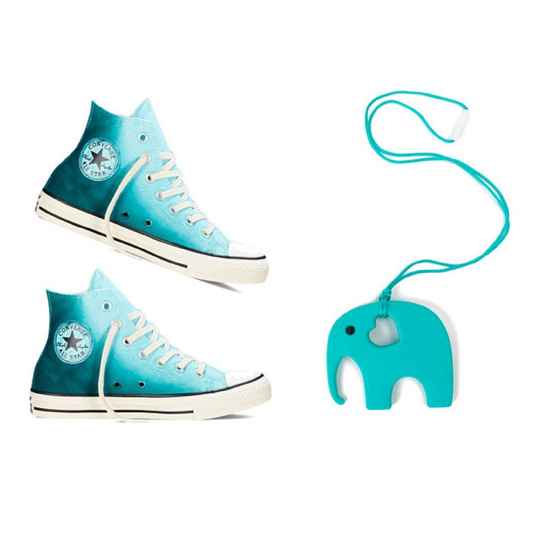 Womens Converse Sneakers - Ombre Blue