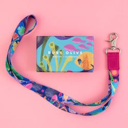 RO x Kasey Rainbow Reef Lanyard (Safety Clasp Option Avail)