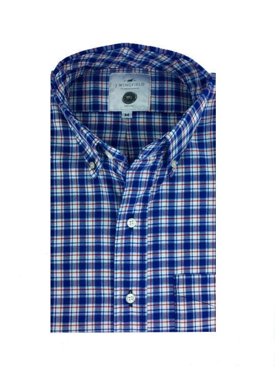 Chatham Check Button Down
