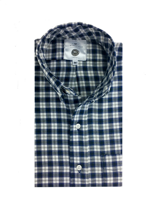 Saunders Traditional Check Button Down