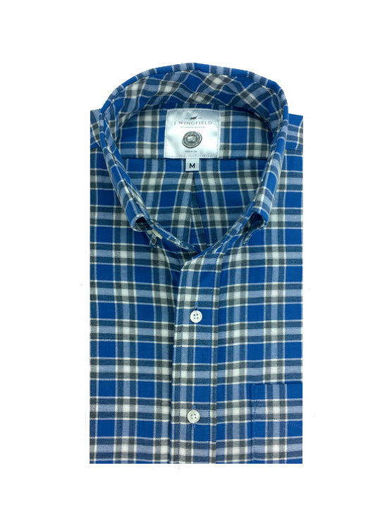 Sheridan Steel Blue Button Down