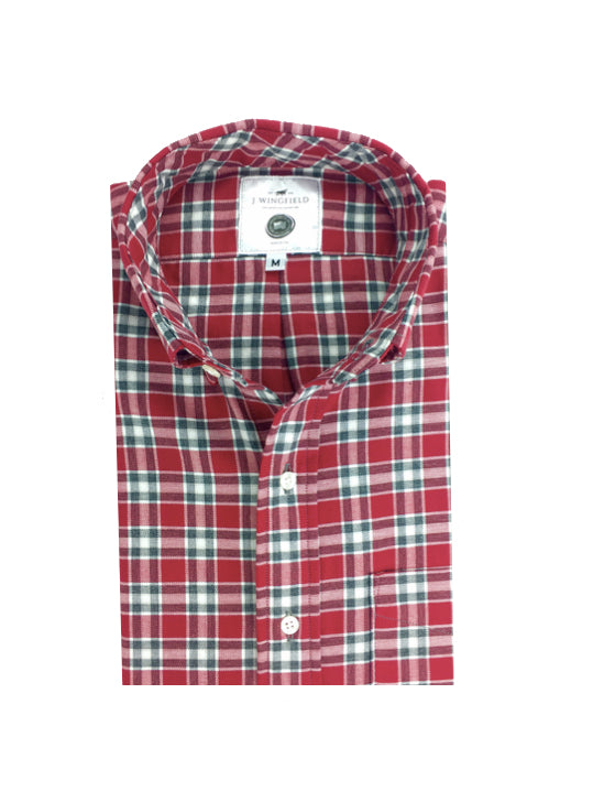 Sheridan Crimson Button Down