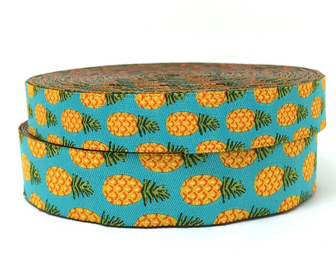 "3/4"" Pineapple Dog Collar"