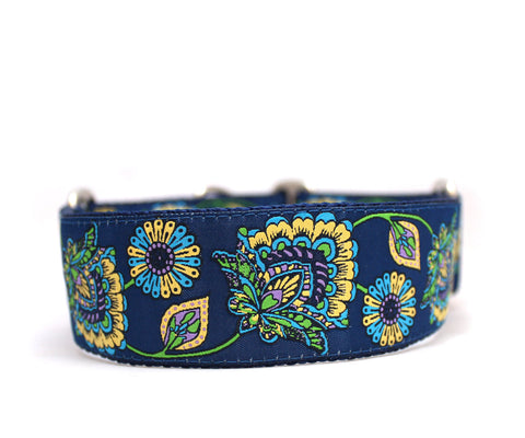 "1.5"" Blue Danube Dog Collar"