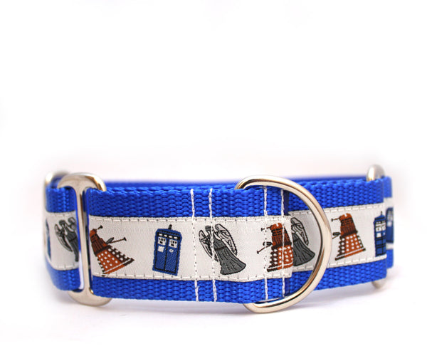 "1.5"" Doctor Who Dog Collar"
