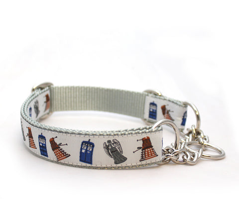 "1"" Doctor Who Dog Collar"