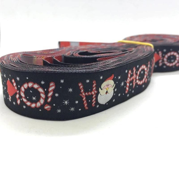 "1"" Ol' Saint Nick Dog Collar"