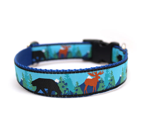 "1"" Into the Wild Dog Collar"
