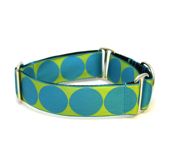 "1.5"" Breakfast With Audrey Dog Collar"