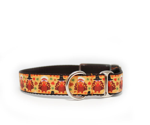 "1"" Design Your Own Thanksgiving Dog Collar"