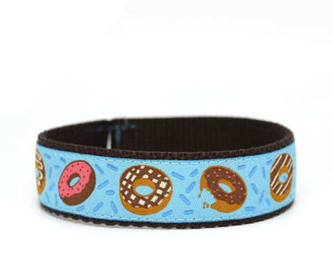 "1"" Donut Eat This Dog Collar"