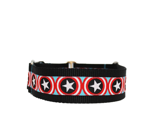 "1.5"" Super Star Dog Collar"