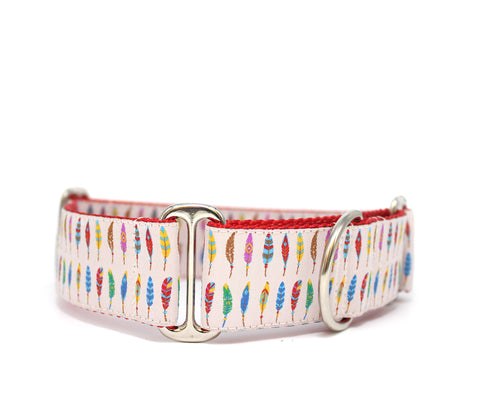 "1.5"" Birds of a Feather Dog Collar"