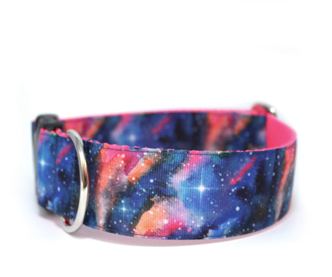 "1.5"" Galaxy Dog Collar"