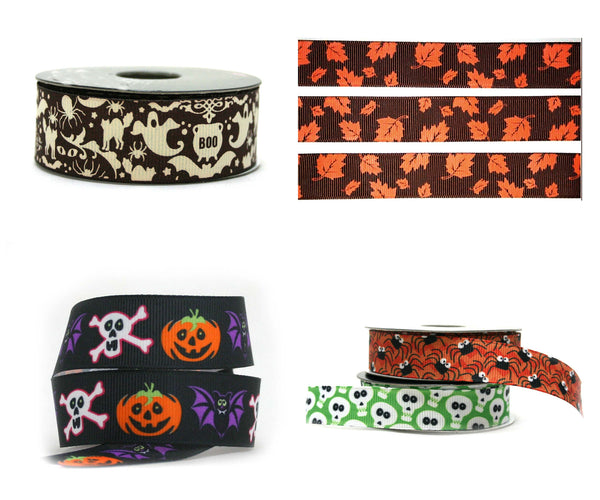 "1"" Design Your Own Fall/Halloween Dog Collar"