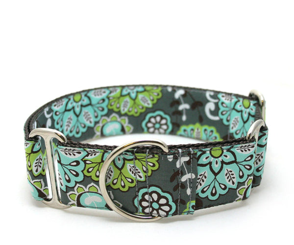 "1.5"" Grey Gardens Dog Collar"