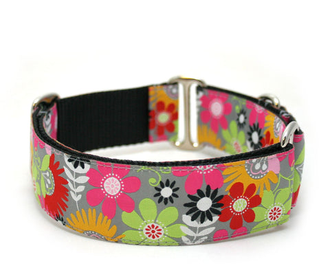 "1.5"" or 2"" Tropical Paradise Dog Collar"