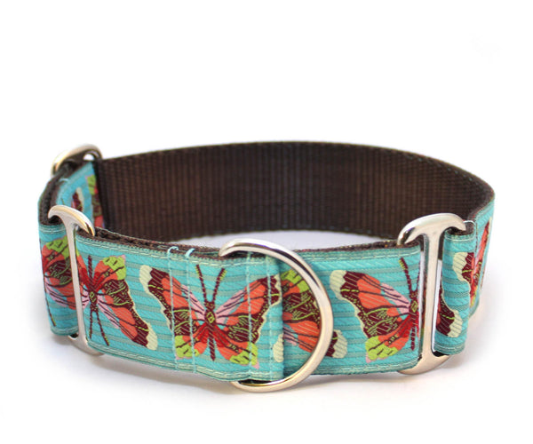 "1.5"" Madam Butterfly Dog Collar"