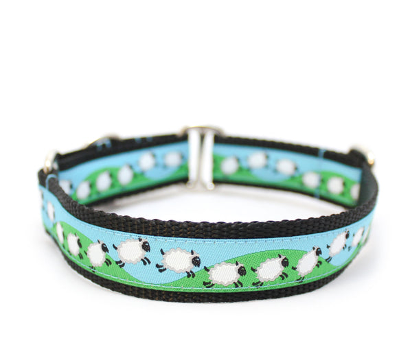 "1"" Counting Sheep Dog Collar"