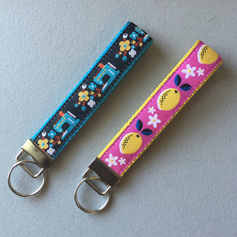 You Design It - Matching Keychain Wristlet Key Fob - FREE SHIPPING