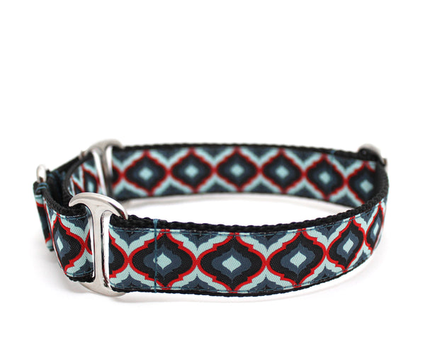 "1"" Royals Red Dog Collar"