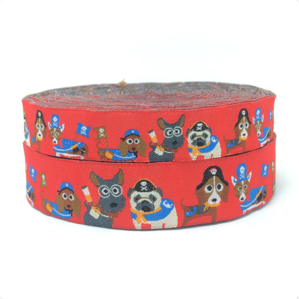 "1"" Spring into Summer Dog Collar"