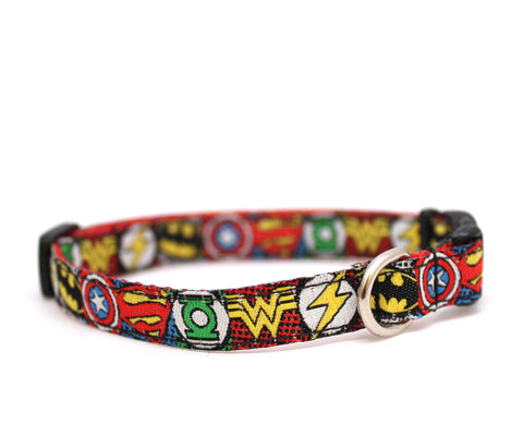 "3/8"" Sheldon Cooper tiny dog or cat buckle collar"