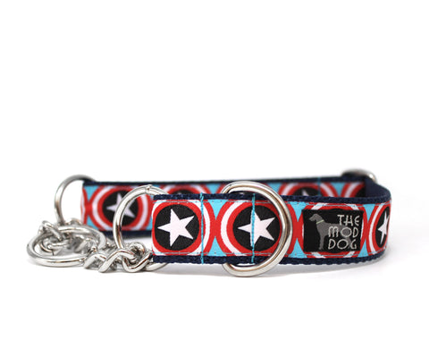 "1"" Super Star Dog Collar"