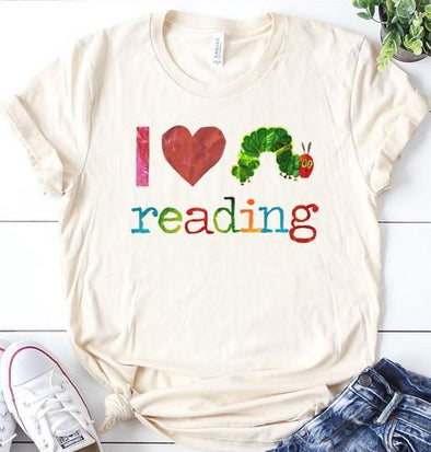 Hungry Caterpillar I Love Reading Top