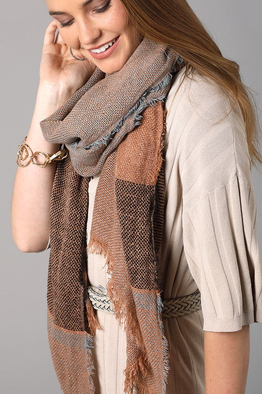 Textured Oblong Scarf