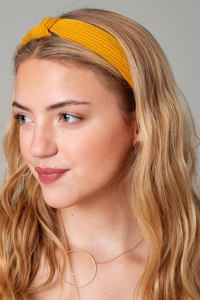 Knotted Ribbed Headband