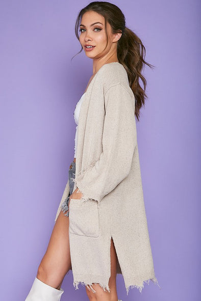 Desiree Distressed Cardigan