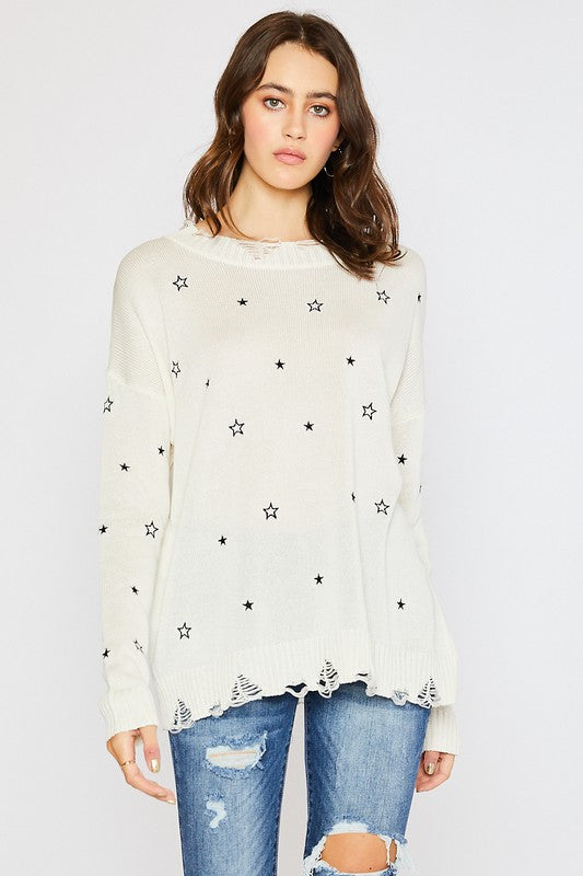 Twinkle Star Sweater