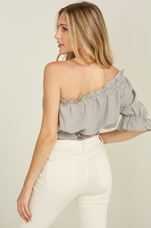 Pixie One Shoulder Top