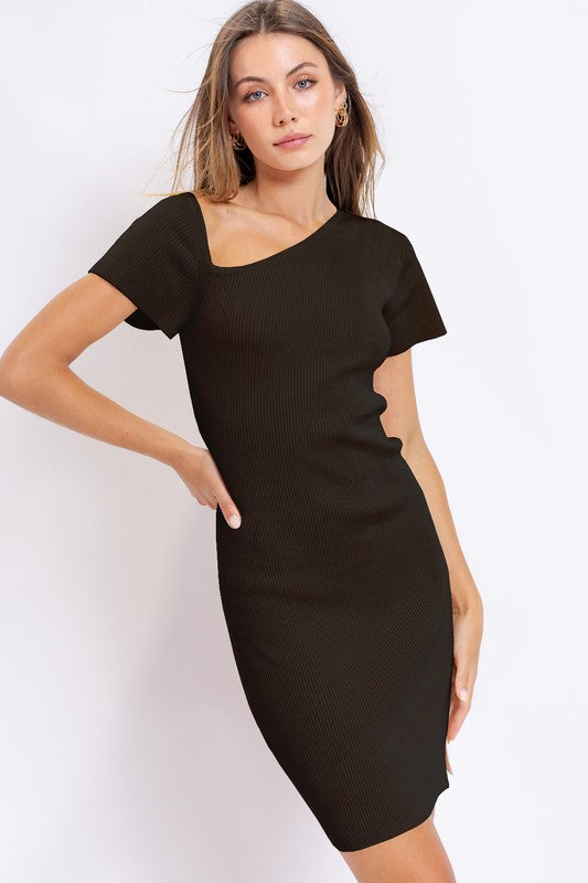 Halle Asymmetric Dress