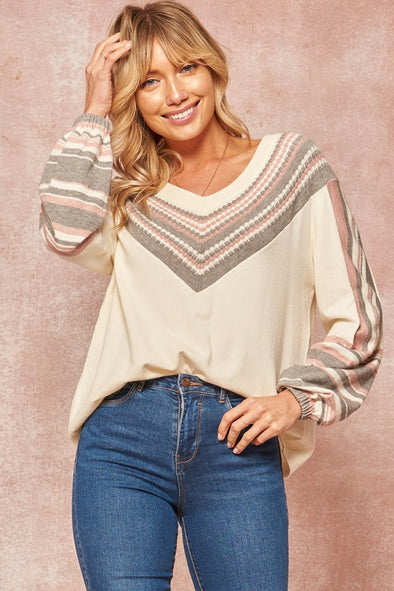 Polly Perfect V Top
