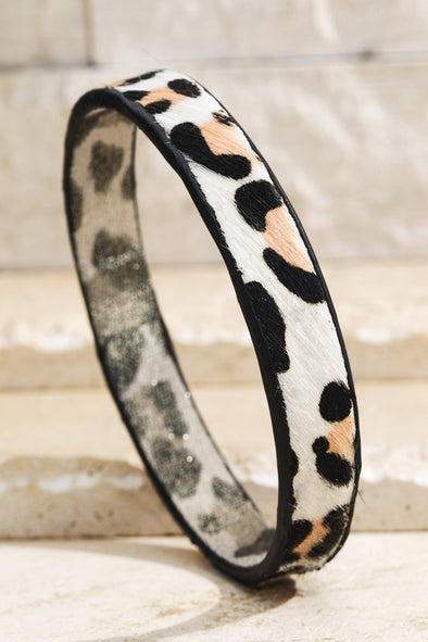 Cheetah Bangle Bracelet