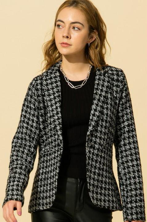 Kristi Tweed Jacket