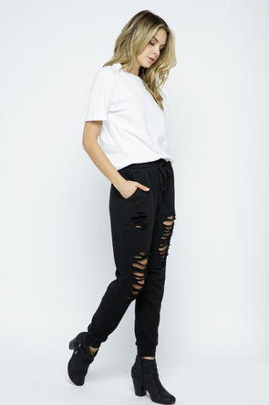 Miley Distressed Joggers