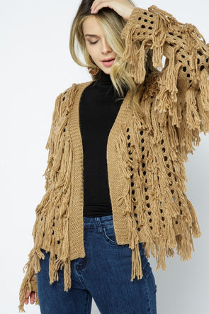 Faith Fringe Sweater