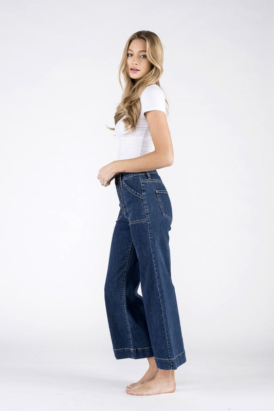 Reed Carpenter Wide Leg Jeans