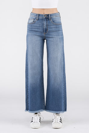 Carley Wide Leg Denim