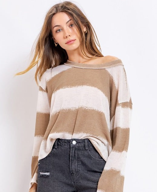 Kara Bell Sleeve Knit Top