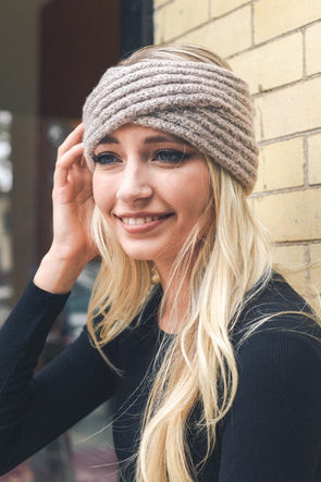 Cross Knit Headband
